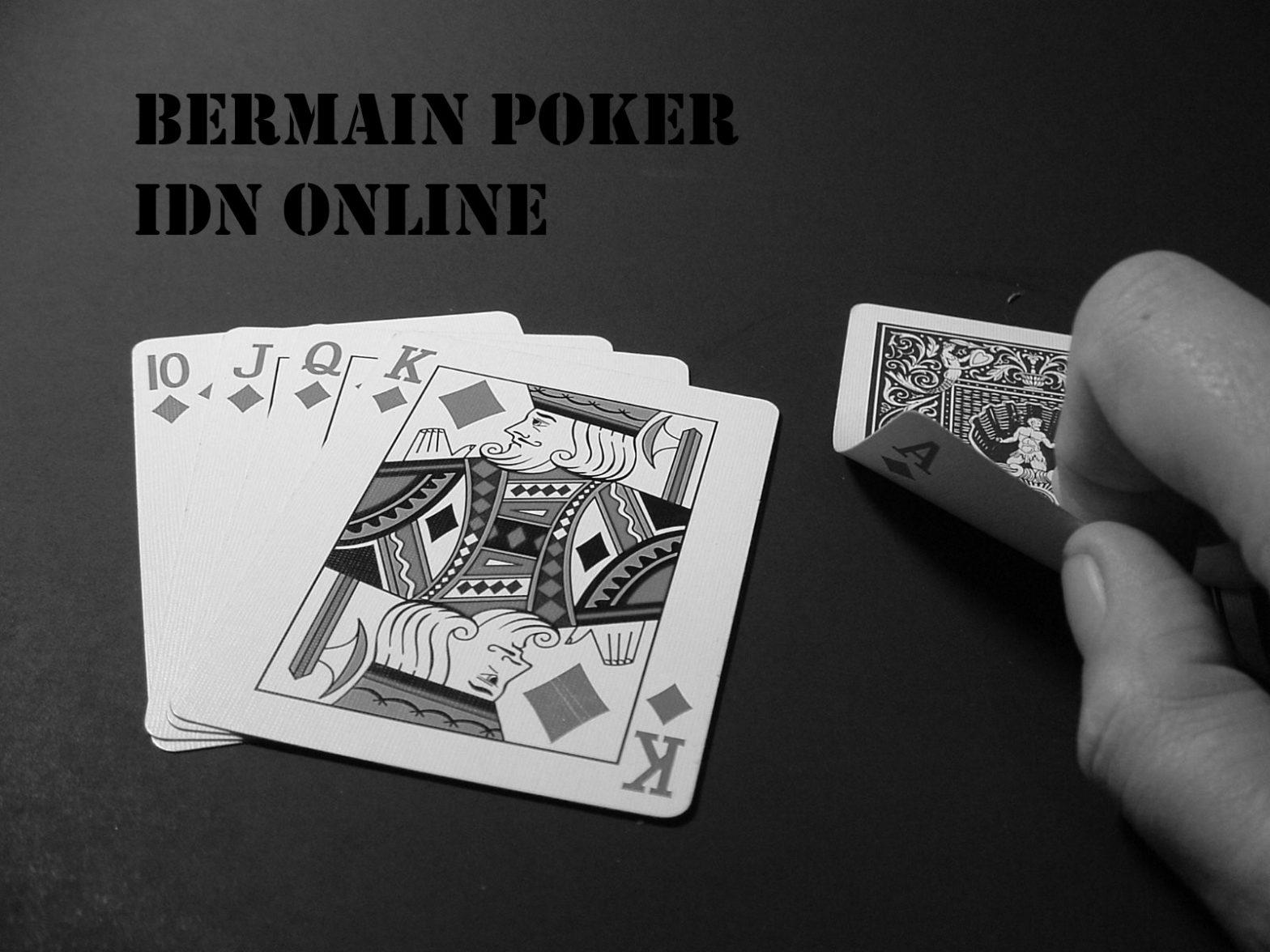 Main IDN Poker Online Terbaru